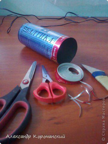 Мастер-класс Моделирование конструирование Алюминиевые банки квиллинг Металл фото 4