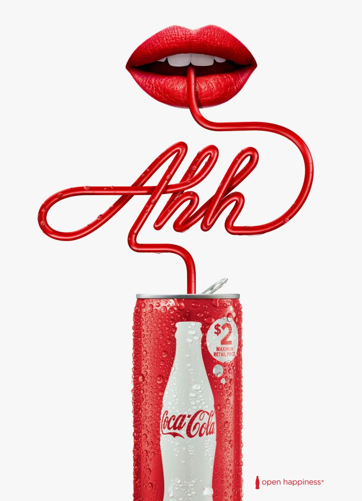 Print Campaign for CocaCola. Small can big Ah…. Year: 2015 Client: Ogilvy Country: Australia