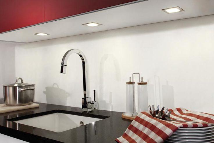 LED Einbaustrahler Toni | LED-Küchenbeleuchtung | Beleuchtung | Nordsee Küchen