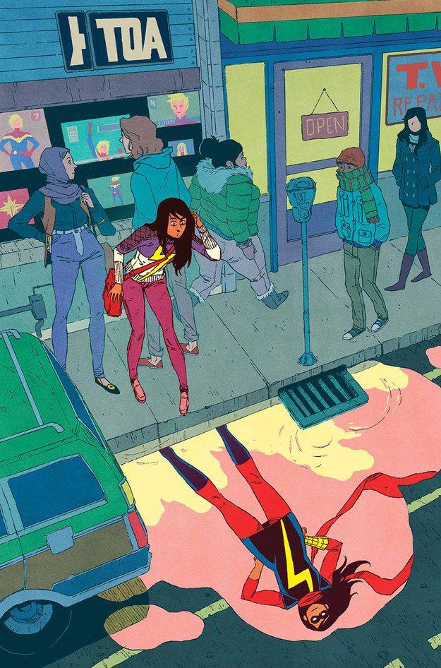 She's an amazing representation of a Pakistani-American teenager. | Community Post: 12 Reasons Why Kamala Khan Is The Best Comic Book Hero