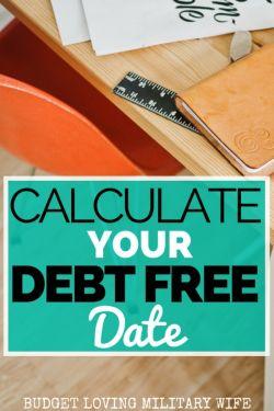 FREE Debt Snowball Calculator! Determine Your Debt Free Date TODAY!