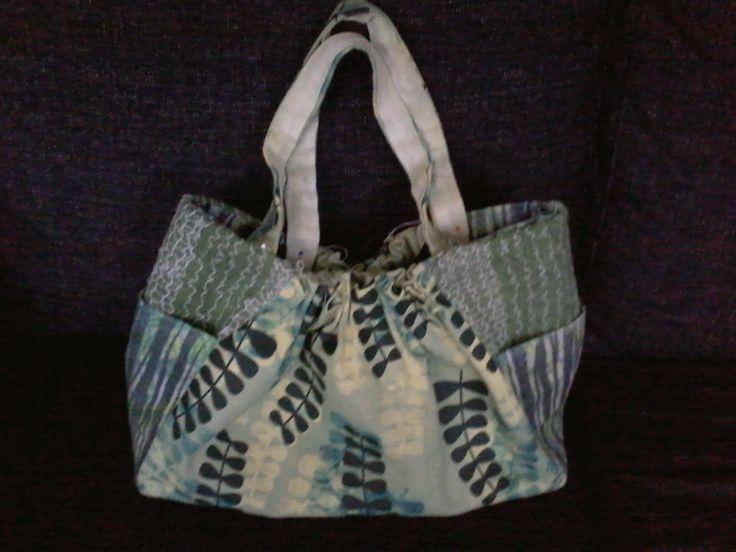 Handtassen - Handgemaakte tas. Uniek dessin en ontwerp - Een uniek product van Textile-meeting-point op DaWanda