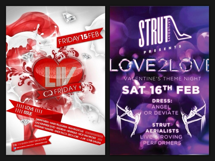 Valentines events this weekend!