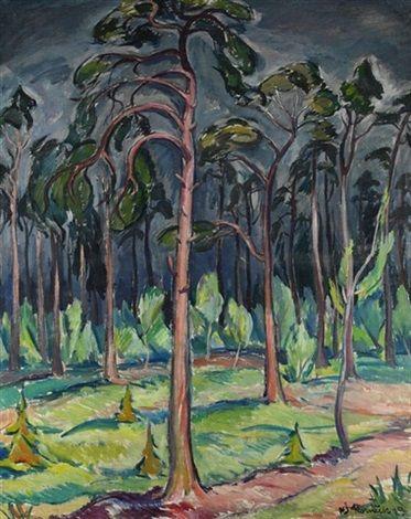 Lesnatá krajina, 1929