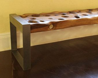 PacificDrift Long Bench by ModernDrift on Etsy