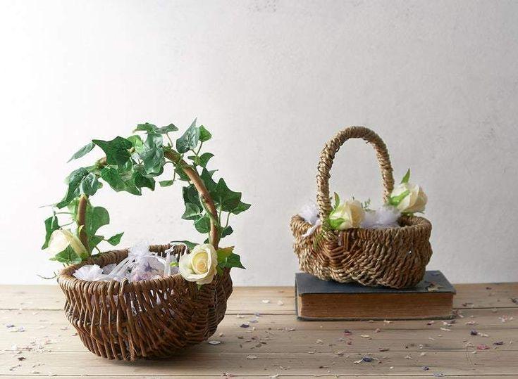 flower girl baskets ideas