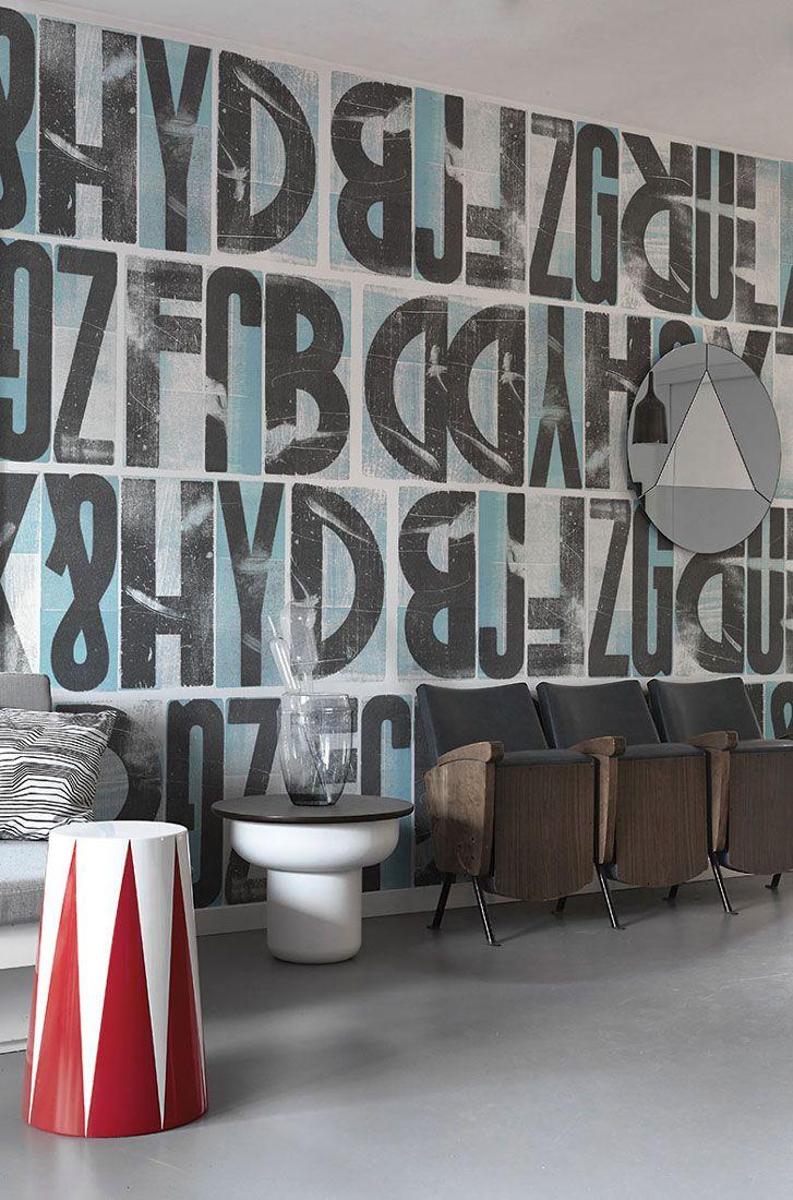 """""""Letras"""" designed by Marco Campedelli – www.londonart.it #wallpapers #fuorisalone #londonart #art #vision #letterpress #type"""