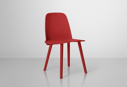 Nerd chair in red by Muuto, available at Tempo Berlin. http://www.tempoberlin.com