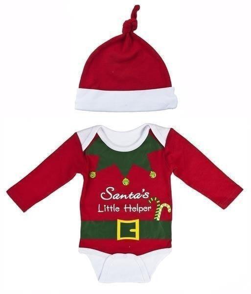 Outlet Ella Jackson Santa's Little Helper Onesie Set