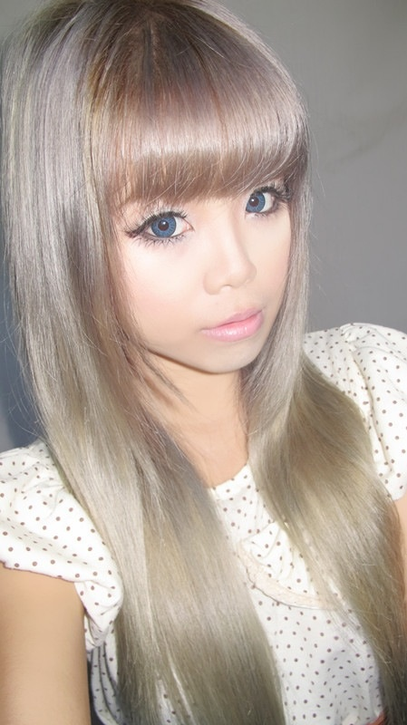 Ash Blonde Hair Love Pinterest Gyaru Doll Makeup