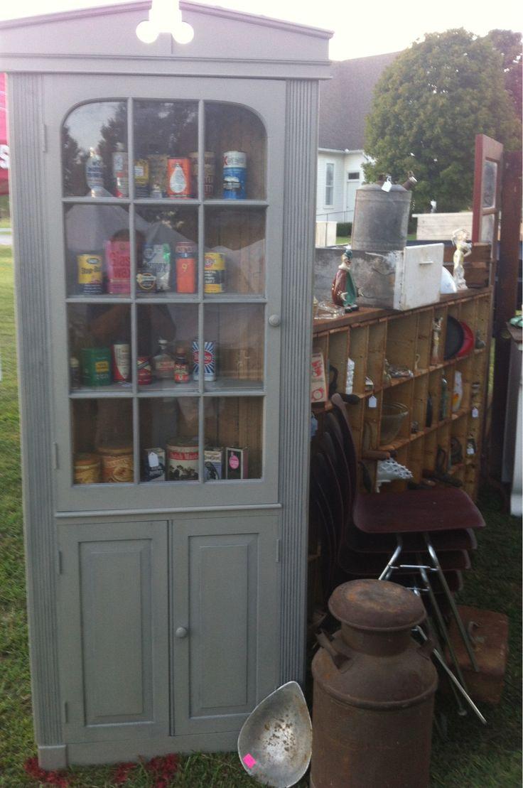 Pine Corner Cabinet Paint With Valspar Color Matched To