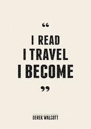 Read, travel, become.