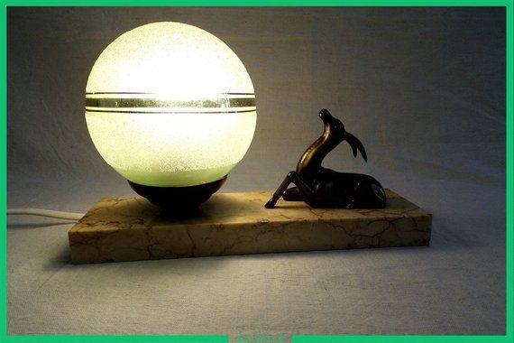 lampe de chevet veilleuse ancienne art