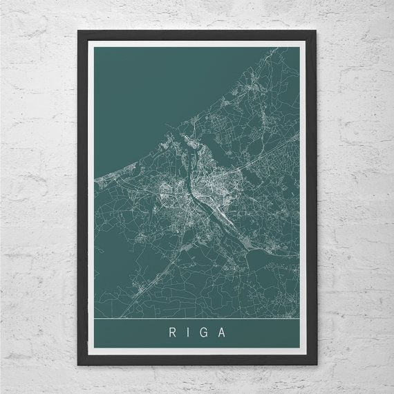 Hey, I found this really awesome Etsy listing at https://www.etsy.com/uk/listing/237802441/riga-map-print-latvia-map-art-high