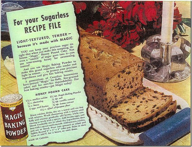 Ration Recipes Honey Cakes
