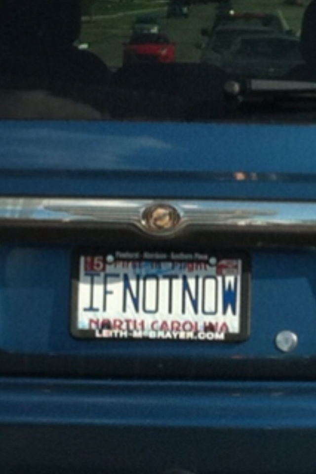 This is a Mantra I hear often and I saw this in traffic.  A message to me?