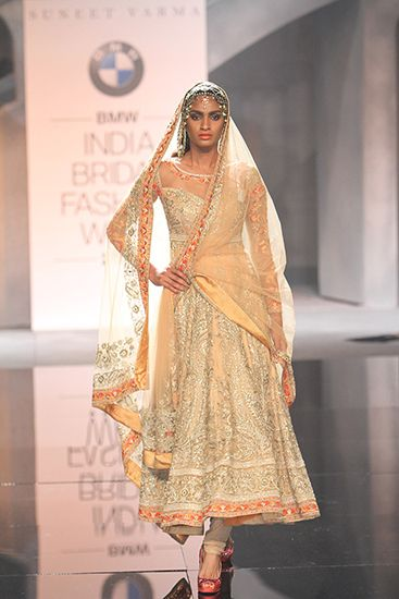 Suneet Varma - BMW India Bridal Fashion Week 2015