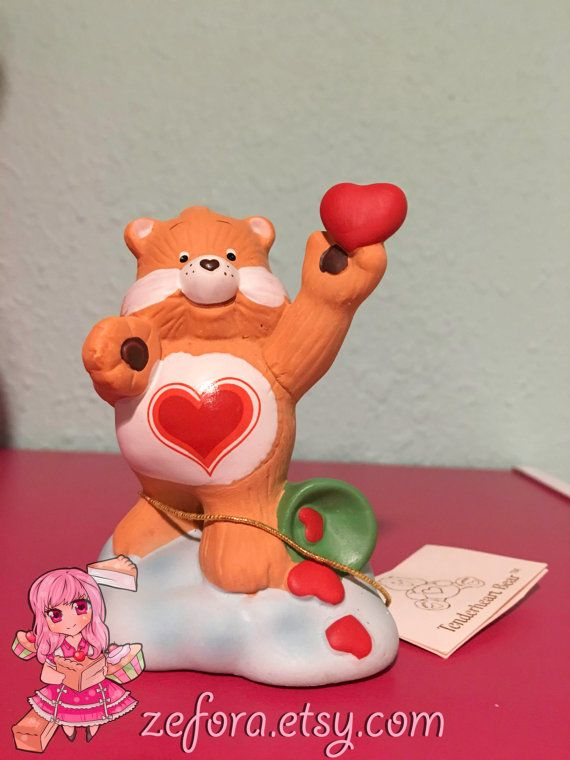 Tenderheart Vintage Care Bears Ceramic Collectible by zefora