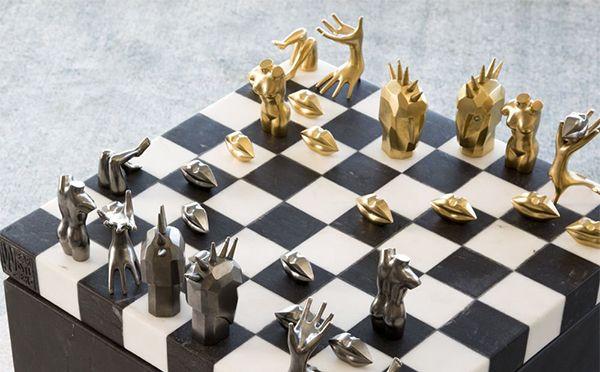 もはやアート級!ゴールドやダイヤモンドを使ったチェスセットがゴージャスすぎ☆