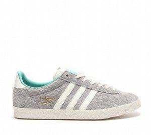 Gazelle Adidas Gris Clair
