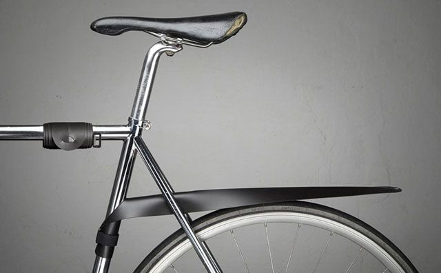 The MUSGUARD Rollable Bicycle Fender