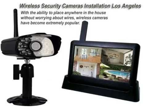 Wireless CCTV Security System Installation Los Angeles .