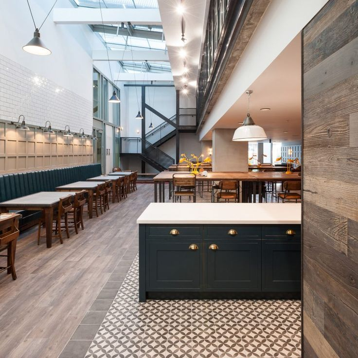 A student accommodation building in London's Kings Cross has interiors based on the area's railway heritage designed by Tigg Coll Architects.