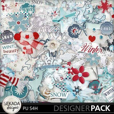 Winters Frost Full Kit, a digital scrapbooking kit from MyMemories Digital Scrapbooking.