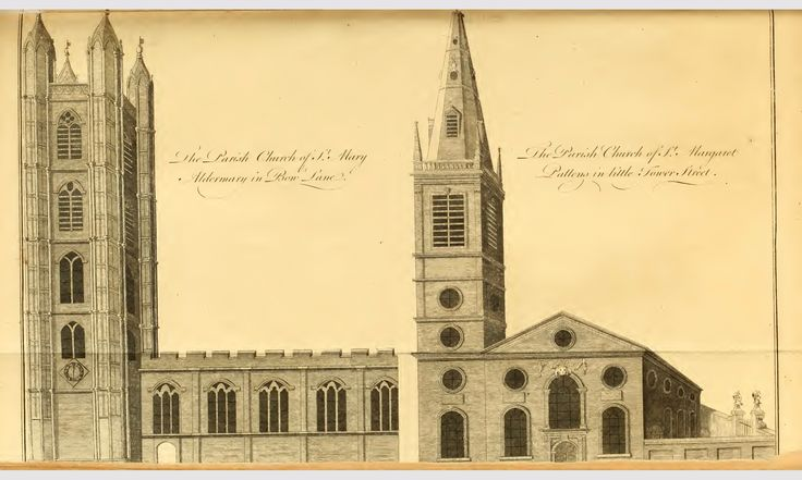 St Mary Aldermary; St Margaret Pattens
