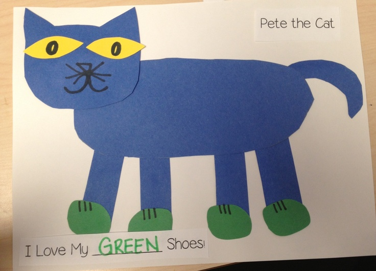 Pete The Cat Crafts For Preschoolers