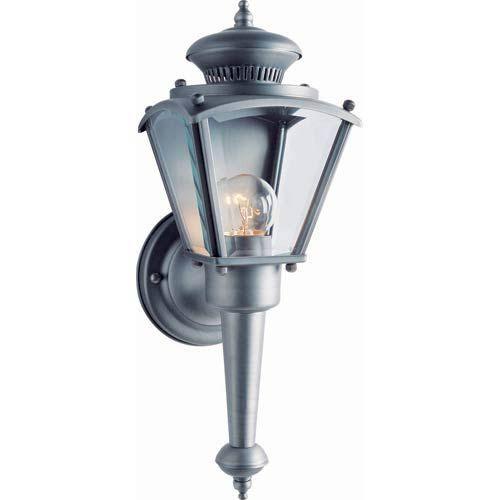 Forte Lighting Series 2 Olde Nickel One Light Outdoor Wall Light 1004 01 54 Outdoor Sconces Outdoor Wall Lighting Sconces