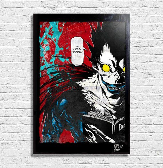 Ryuk from Death Note  by T. Oba and T. Obata   Original