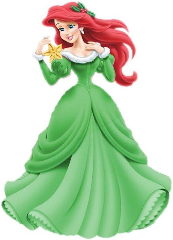 Ariel Christmas (2) by montey4 located @DeviantArt.com