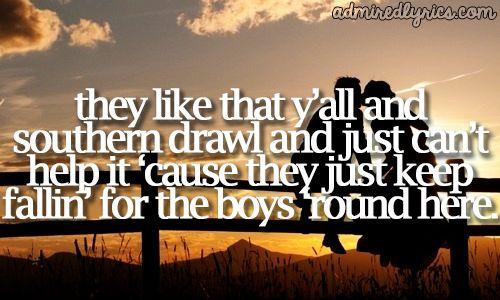 Boys 'round Here Lyrics - Blake Shelton   Country Music