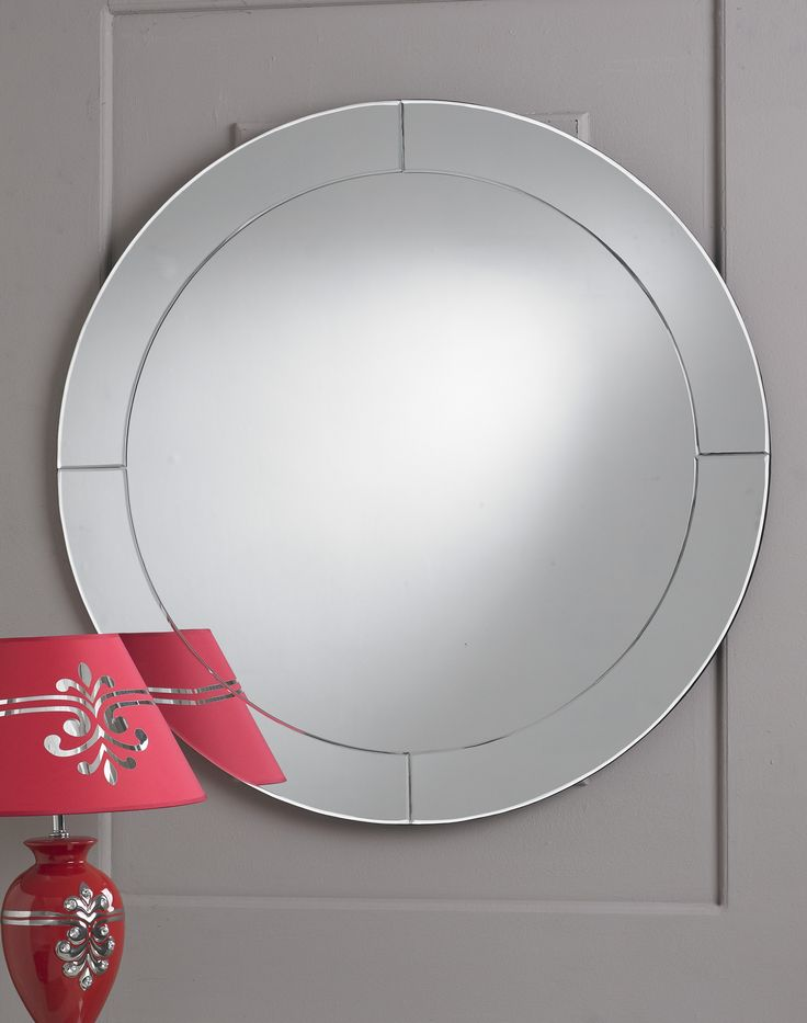 The Ring Mirror is a classic example of less is more with it's clean-cut, sharp design. The sleek and elegant style the Ring Mirror is a casually cool look to your home.