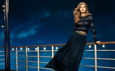 Gigi Hadid fashion shoot wallpaper