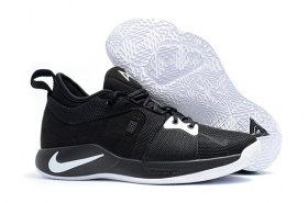 f28584ba7985 Zero Defect Nike Paul George PG2 Playstation Black White Men s Basketball  Shoes Male Sneakers
