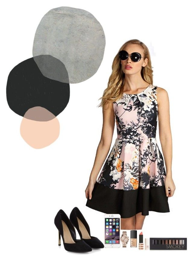 """""""Design #10"""" by ana-karen-aguilar ❤ liked on Polyvore featuring Boohoo, Michael Kors, NARS Cosmetics, Forever 21 and Topshop"""