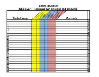 Teaching Strategies Gold * Editable Spreadsheet * PDF * FREEBIE PREVIEW
