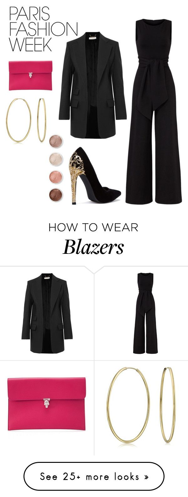 """Paris Fashion Week"" by beautyoctober on Polyvore featuring Bling Jewelry, Chloé, Alexander McQueen, Susana Monaco and Terre Mère"