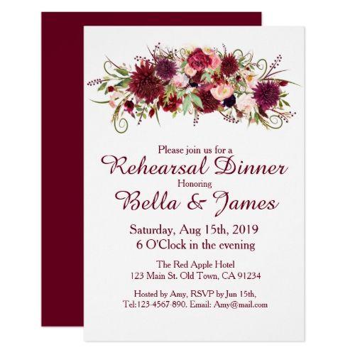 The Best Wedding Rehearsal Invitations Ideas On