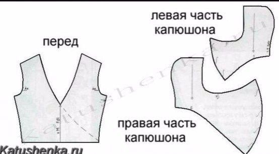 """Необычный """"капюшон"""" (выкройка) / Головные уборы / ВТОРАЯ УЛИЦА"""