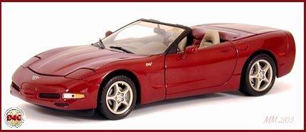 c5 Corvette convertable Diecast | Franklin Mint 1:24 2003 Corvette Convertible…