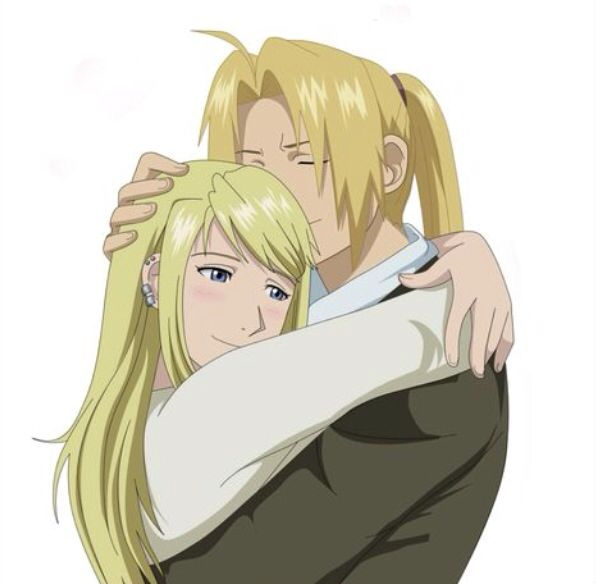Edward Elric And Winry Rockbell Married 1000+ images about Ful...
