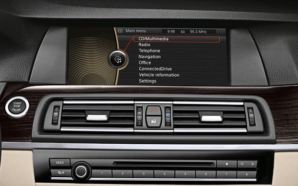 BMW Active Hybrid 5 Dash