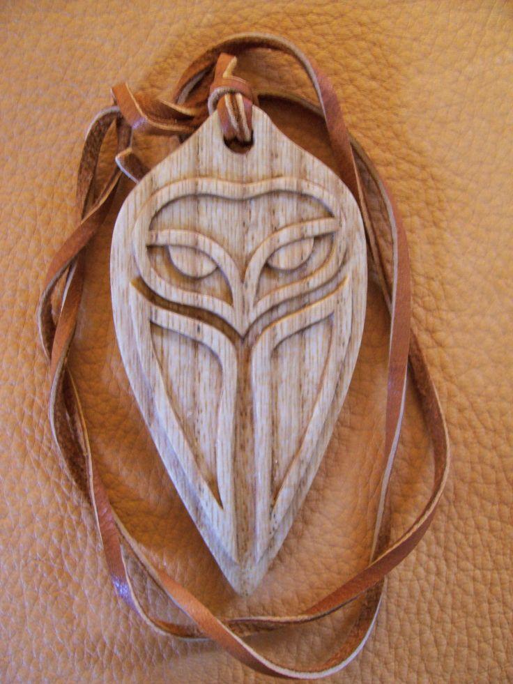 Owl spirit pendant