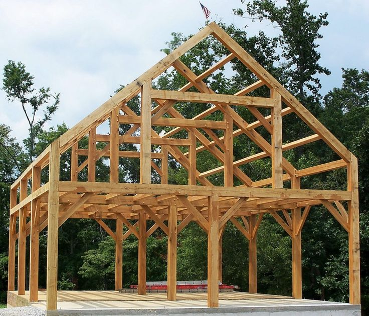 Best 25 timber frames ideas on pinterest timber frame A frame barn plans