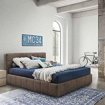 Beautiful, ultramodern 'Baltus' bed. Elegant, contemporary, upholstered. My Italian Living.