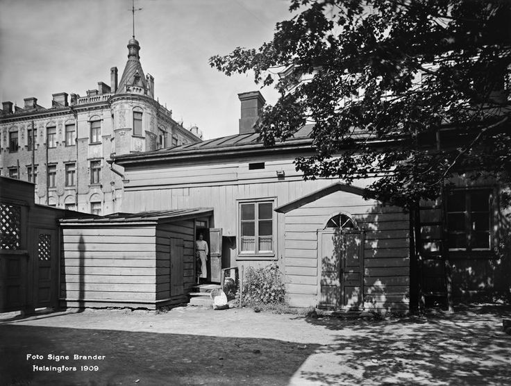 Annankatu 11, vuonna 1909. - Finna - Helsingin kaupunginmuseo