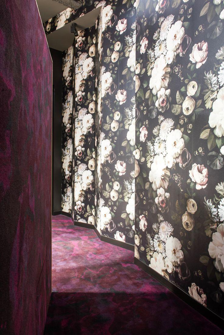 Wings of Arts West, University of Melbourne, Australia. Carpet design: Montgolfier purple (standard collection)